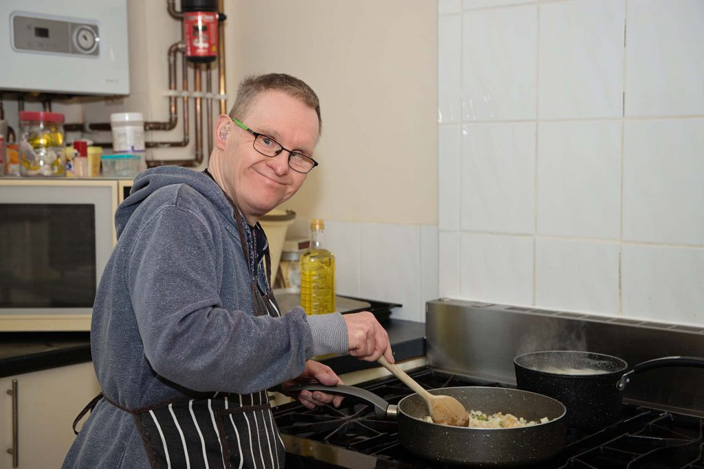 Cooking and healthy eating activities