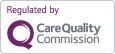 Regulated by the Care Quality Commission logo